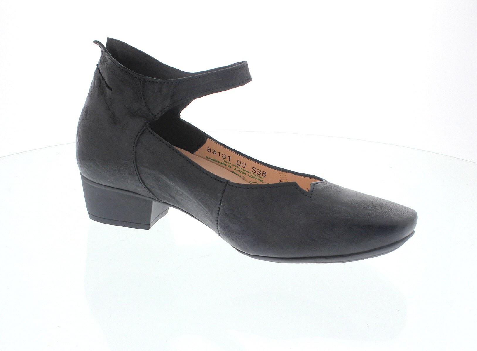 Think KARENA 02, Pumps in schwarz